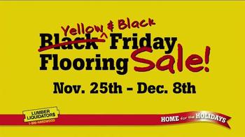 Lumber Liquidators Yellow & Black Friday Sale TV Spot, 'Flooring' - Thumbnail 2