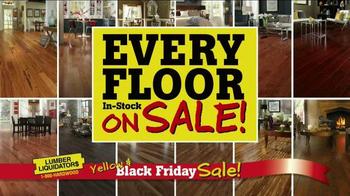 Lumber Liquidators Yellow & Black Friday Sale TV Spot, 'Flooring' - Thumbnail 3