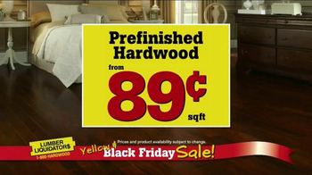 Lumber Liquidators Yellow & Black Friday Sale TV Spot, 'Flooring' - Thumbnail 4