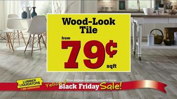 Lumber Liquidators Yellow & Black Friday Sale TV Spot, 'Flooring' - Thumbnail 5