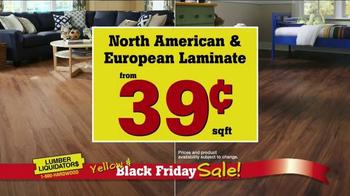 Lumber Liquidators Yellow & Black Friday Sale TV Spot, 'Flooring' - Thumbnail 6