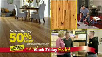 Lumber Liquidators Yellow & Black Friday Sale TV Spot, 'Flooring' - Thumbnail 7