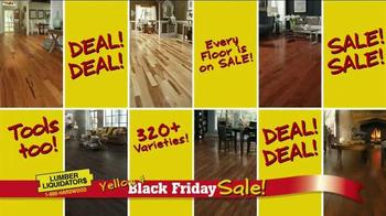 Lumber Liquidators Yellow & Black Friday Sale TV Spot, 'Flooring' - Thumbnail 9