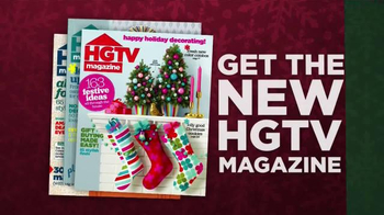 HGTV Magazine TV Spot, 'Holiday Design' Feat. Joanna Gaines, Chip Gaines - Thumbnail 5