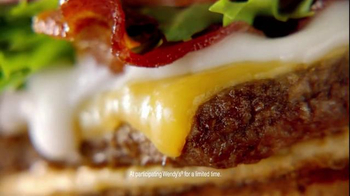 Wendy's Gouda Bacon Cheeseburger TV Spot, 'A Cheesy Underdog Story' - Thumbnail 7