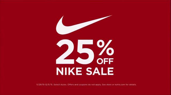 Kohl's Nike Sale TV Spot, 'Apparel, Shoes and Accessories' - Thumbnail 2