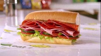 Subway 50th Anniversary TV Spot, 'Deluxe Sandwiches'
