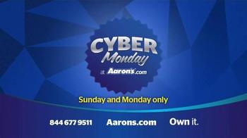 Aaron's Cyber Monday Sale TV Spot, 'Major Deals' - Thumbnail 6