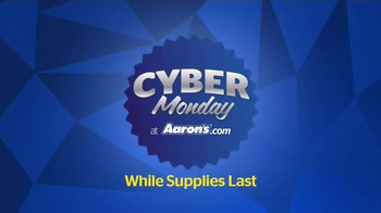 Aaron's Cyber Monday Sale TV Spot, 'Major Deals' - Thumbnail 3