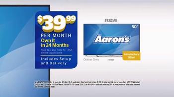 Aaron's Cyber Monday Sale TV Spot, 'Major Deals' - Thumbnail 4
