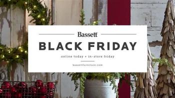 Bassett Black Friday TV Spot, 'Storewide Savings' - Thumbnail 1