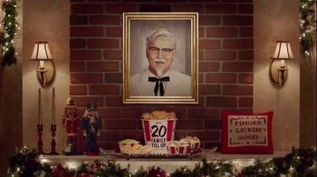 KFC $20 Family Fill Up TV Spot, 'Holiday Entrances' Feat. Norm Macdonald - Thumbnail 8