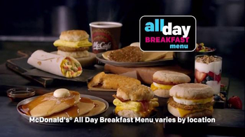 McDonald's All Day Breakfast Menu TV Spot, 'Motorcycle' - Thumbnail 9