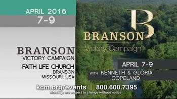 Kenneth Copeland Ministries TV Spot, '2016 KCM Events: April-July' - Thumbnail 2