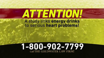 Goldwater Law Firm TV Spot, 'Energy Drinks' - Thumbnail 1