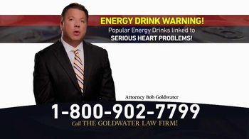 Goldwater Law Firm TV Spot, 'Energy Drinks' - Thumbnail 3