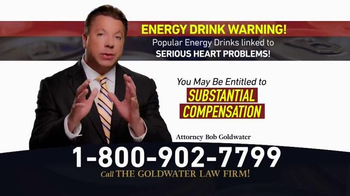 Goldwater Law Firm TV Spot, 'Energy Drinks' - Thumbnail 4