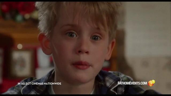 Fathom Events TV Spot, 'Home Alone: 25th Anniversary' - Thumbnail 2