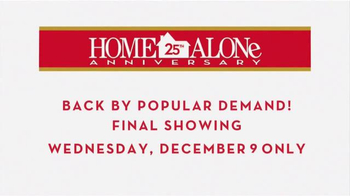 Fathom Events TV Spot, 'Home Alone: 25th Anniversary' - Thumbnail 6