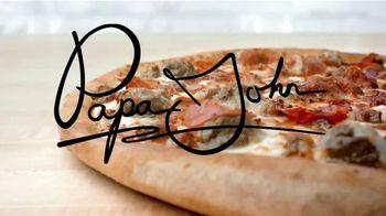Papa John's Epic Meatz Pizza TV Spot, 'Apasionados de la carne' [Spanish]