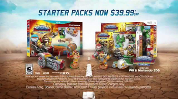 Skylanders SuperChargers Starter Packs TV Spot, \'Drive Evil Crazy\'