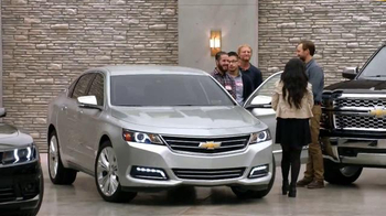 Chevrolet Holiday Deals TV Spot, 'Gift' - 732 commercial airings