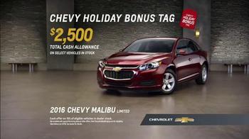 Chevrolet Holiday Deals TV Spot, 'Gift' - Thumbnail 7