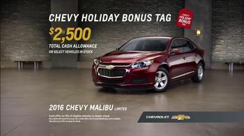 Chevrolet Holiday Deals TV Spot, 'Gift' - Thumbnail 8