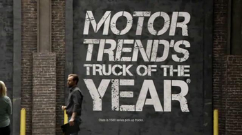 Chevrolet Holiday Pricing TV Spot, 'Chevrolet Truck Reveal' - Thumbnail 3