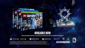 LEGO Dimensions TV Spot, 'TBS' - Thumbnail 9