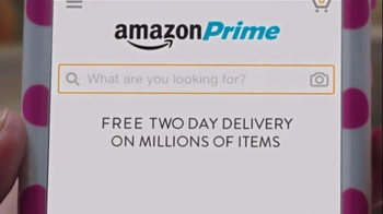 Amazon Prime TV Spot, 'Tall Handsome Man' Featuring Bridgit Mendler - Thumbnail 6