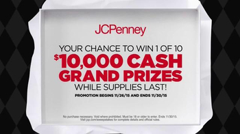 JCPenney Black Friday Sale TV Spot, 'Sweepstakes' - Thumbnail 3
