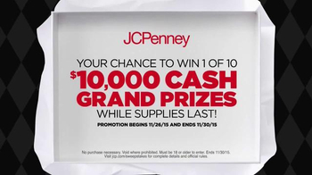 JCPenney Black Friday Sale TV Spot, 'Sweepstakes' - Thumbnail 4