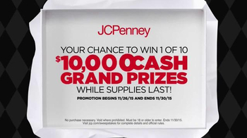 JCPenney Black Friday Sale TV Spot, 'Sweepstakes' - Thumbnail 5