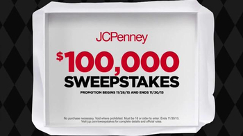 JCPenney Black Friday Sale TV Spot, 'Sweepstakes' - Thumbnail 6