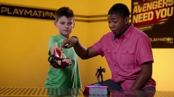 Playmation Marvel Avengers Repulsor Starter Pack TV Spot, 'Disney Channel: Whoa' Featuring MeKai Curtis - Thumbnail 5
