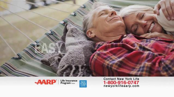 New York Life AARP Level Benefit Term Life TV Spot, 'Simple and Easy' - Thumbnail 1