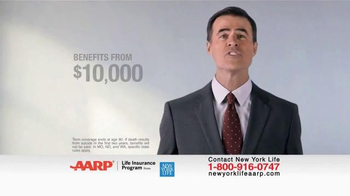 New York Life AARP Level Benefit Term Life TV Spot, 'Simple and Easy' - Thumbnail 2