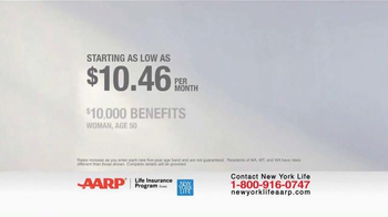 New York Life AARP Level Benefit Term Life TV Spot, 'Simple and Easy' - Thumbnail 4