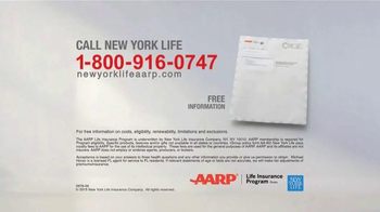 New York Life AARP Level Benefit Term Life TV Spot, 'Simple and Easy' - Thumbnail 7