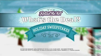 Retailmenot.com App TV Spot, 'What's the Deal? Sweepstakes' - Thumbnail 3