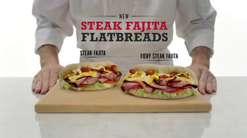 Arby's Steak Fajita Flatbreads TV Spot, 'Favorite Fajita Part' - 2518 commercial airings