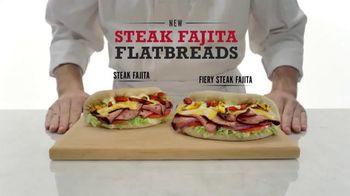 Arby's Steak Fajita Flatbreads TV Spot, 'Favorite Fajita Part' - 2518 commercial airings