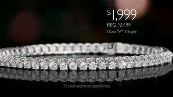 Helzberg Diamonds Diamond Tennis Bracelet TV Spot, 'Holiday Sock Drawer' - Thumbnail 4