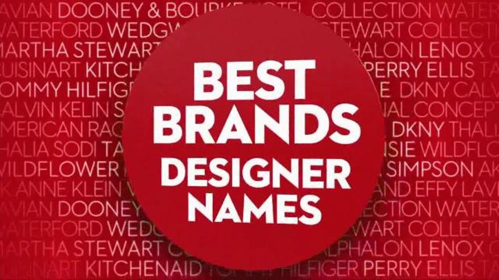e98348485 Macy's Friends & Family Sale TV Commercial, 'Designer Names' - Video
