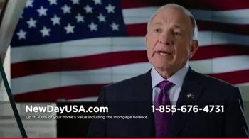 New Day USA VA Home Loan TV Spot, 'Spouses of Veterans' - Thumbnail 2