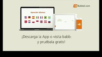 Babbel App TV Spot, 'Un nuevo modo de aprender' [Spanish]