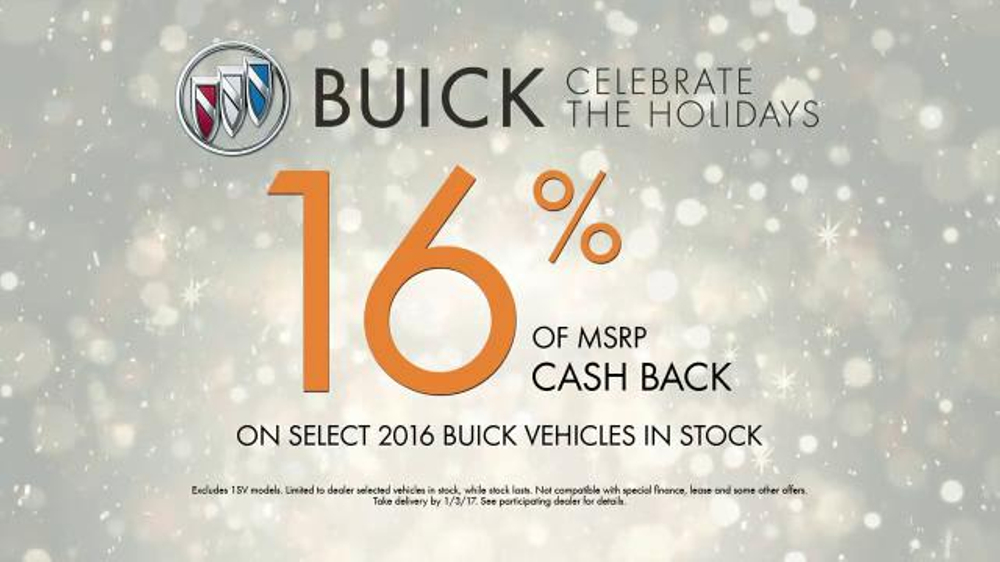 2016 Buick Envision TV Commercial, 'Holidays 2016: Baby ...