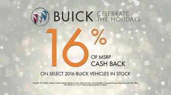 2016 Buick Envision TV Spot, 'Holidays 2016: Baby Monitor' - Thumbnail 7