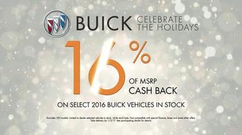 2016 Buick Envision TV Spot, 'Holidays 2016: Baby Monitor' - Thumbnail 8